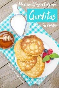 Mexican Dessert Recipe: Gorditas de Azucar
