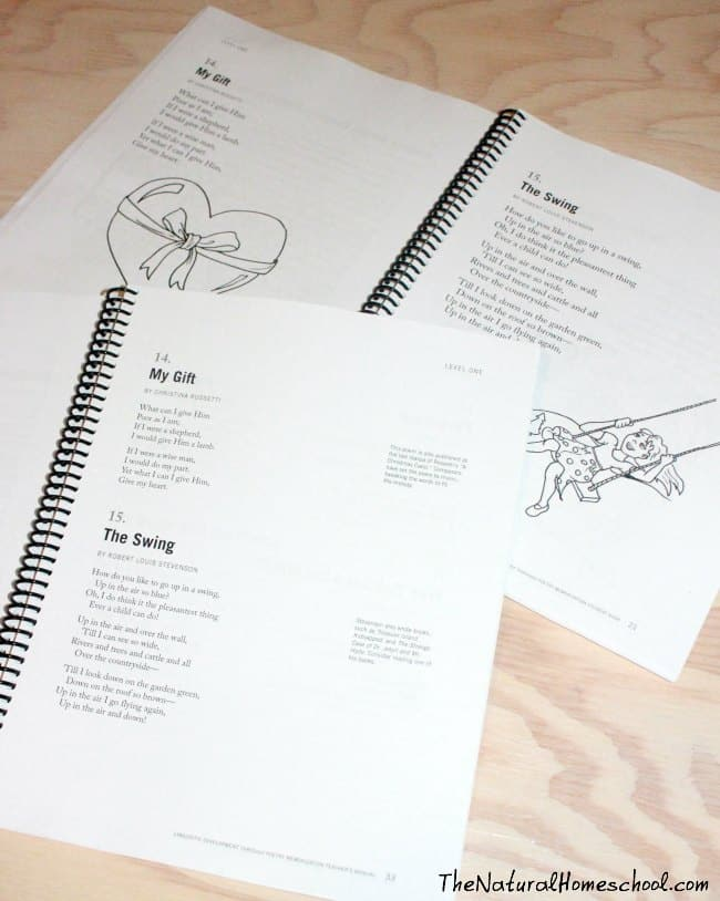 Memorizing Simple Poems with Kids