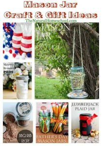 Mason Jar Craft Ideas {Link Party 92}