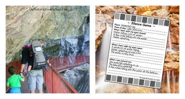 Exploring our Senses Outdoors (The Montessori Silence Game) - Printables