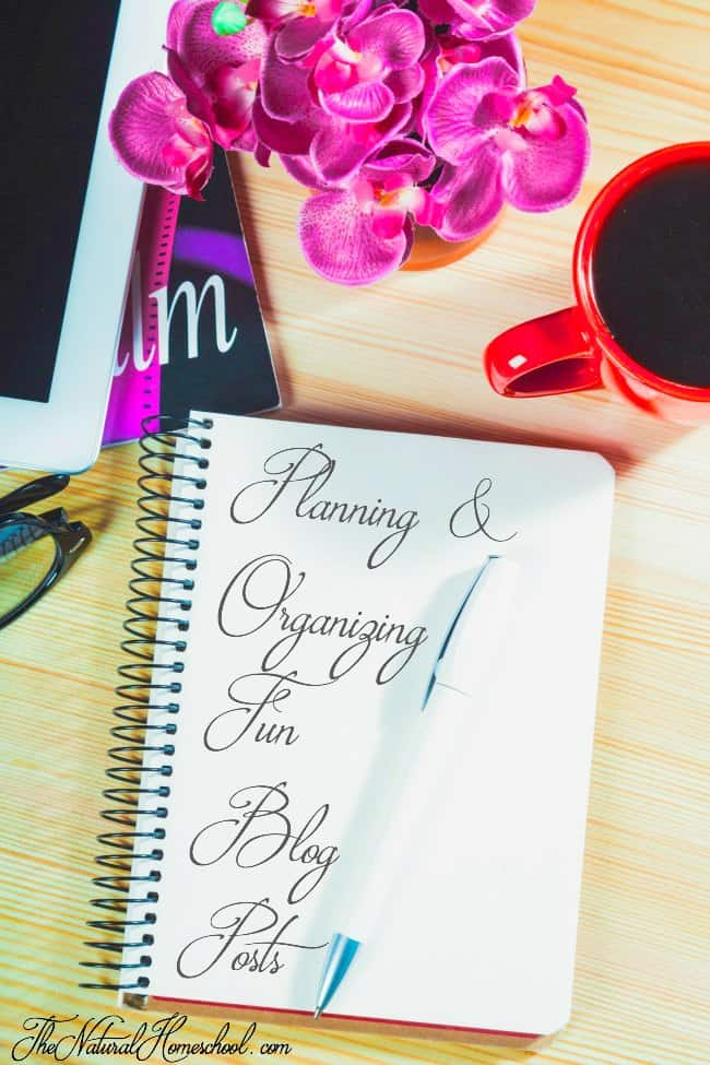 Planning & Organizing Fun Blog Posts