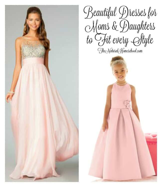 Beautiful Dresses for Moms & Daughters to Fit every Style
