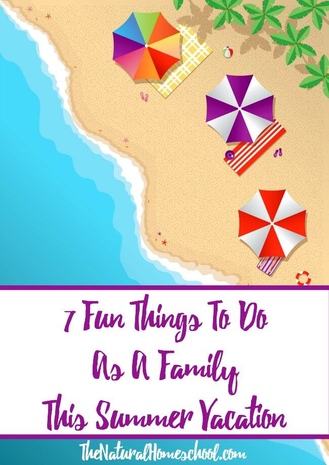 7 Fun Things To Do As A Family This Summer Vacation