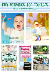 Fun Activities for Toddlers {Link Party 94}