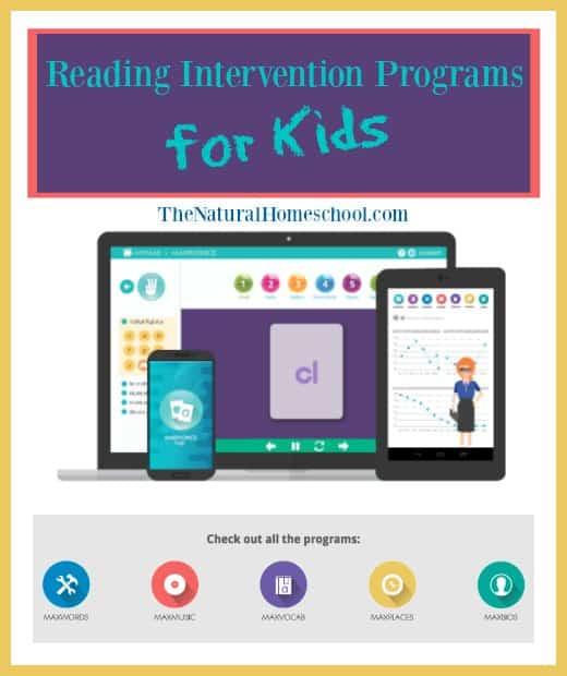 Reading Intervention Programs for Kids