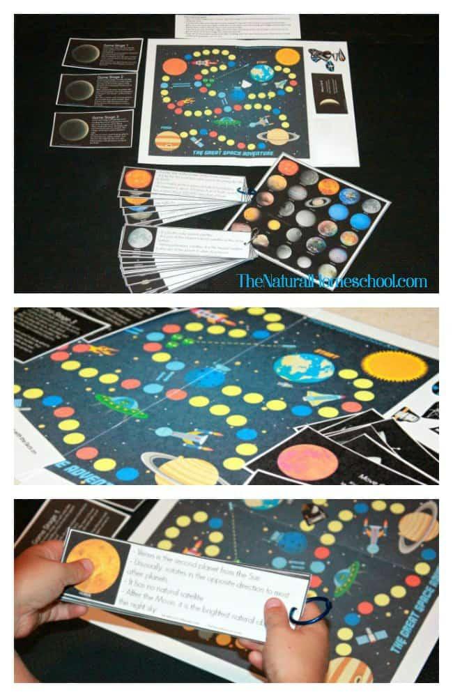 Space Adventures, Games & Activities for Kids