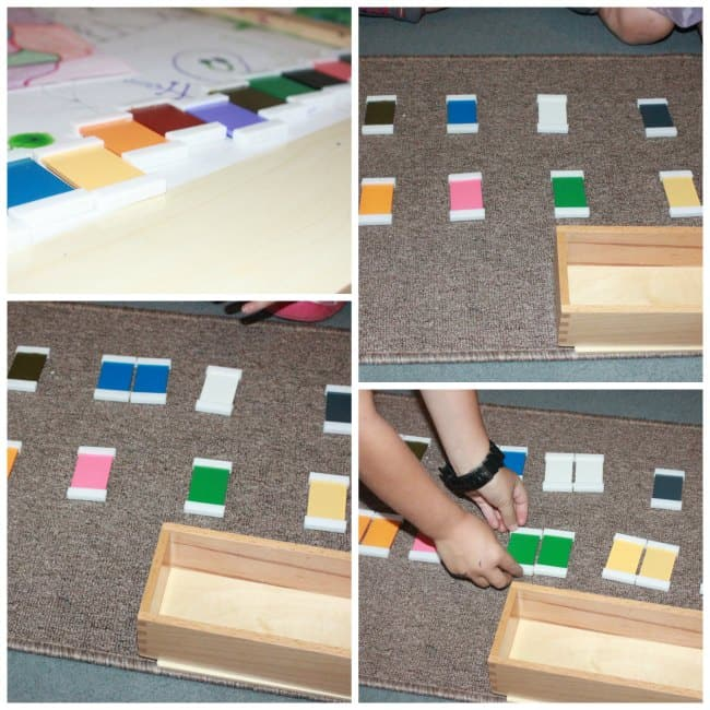 Montessori Sensorial Color Activities for Kids {Printables}