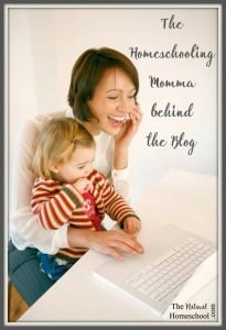 The Homeschooling Momma behind the Blog