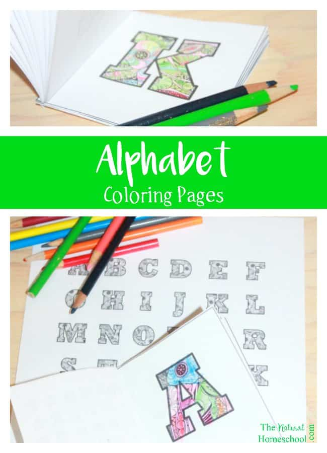 Kids' Alphabet Coloring Pages