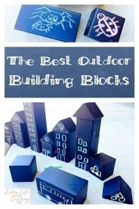 The Best Outdoor Building Blocks ~ A Chalk Adventure
