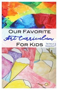 Our Favorite Art Curriculum for Kids