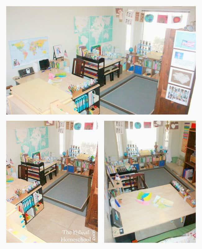 Our 2016 Homeschool Room Tour