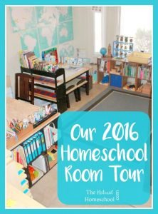 Our 2016 Homeschool Room Tour