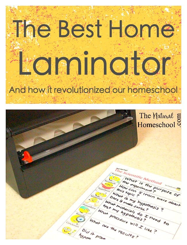 The Best Home Laminator