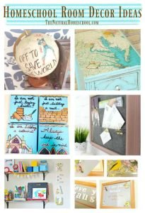 Homeschool Room Décor Ideas {Link Party 101}