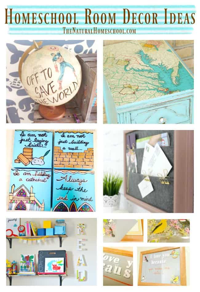 Homeschool Room Décor Ideas