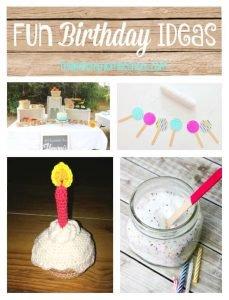 Fun Birthday Ideas {Link Party 104}