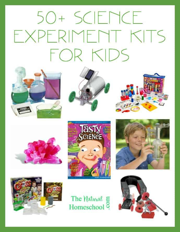 50+ Science Experiment Kits for Kids