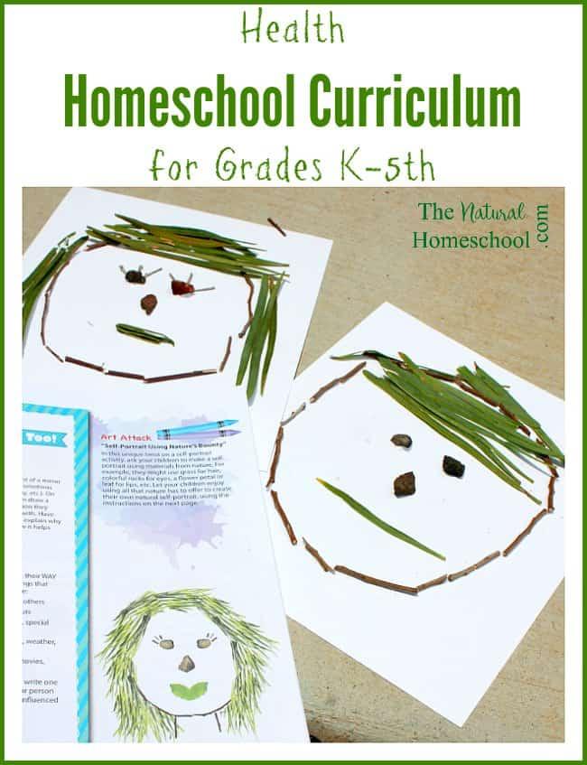 Health Homeschool Curriculum for Grades K-5th