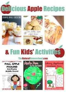 Delicious Apple Recipes & Kids' Activities {Link Party 107}