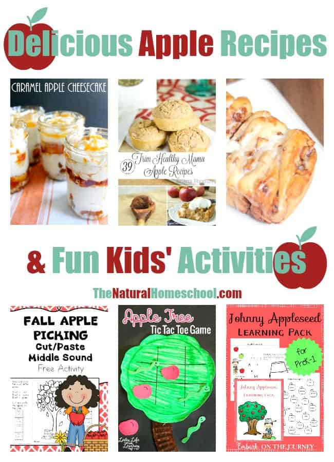 Delicious Apple Recipes & Kids' Activities