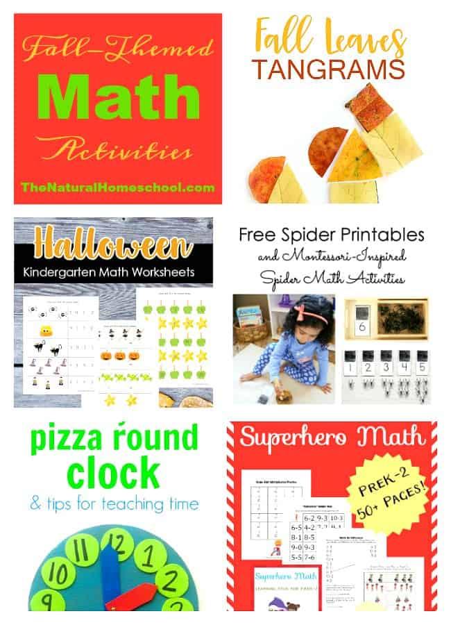 Fall Themed Math Activities