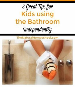 3 Tips for Kids using the Bathroom Independently