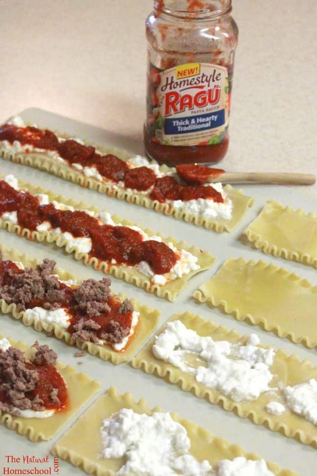 Easy-to-Make Lasagna Recipe {Individual Portions}