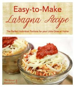 Easy-to-Make Lasagna Recipe {Individual Portions}