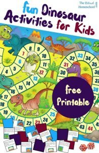 Free Printable Dinosaur Activities for Kids