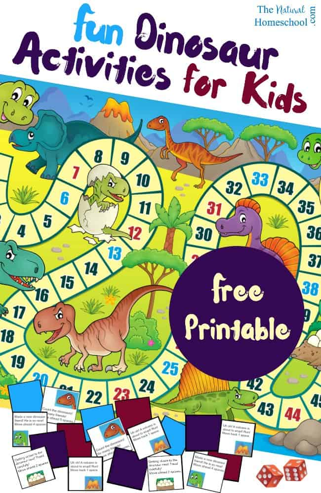 Free Printable Dinosaur Activities For Kids The Natural Homeschool