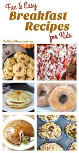 Fun Breakfast Recipes for Kids  {Link Party 112}
