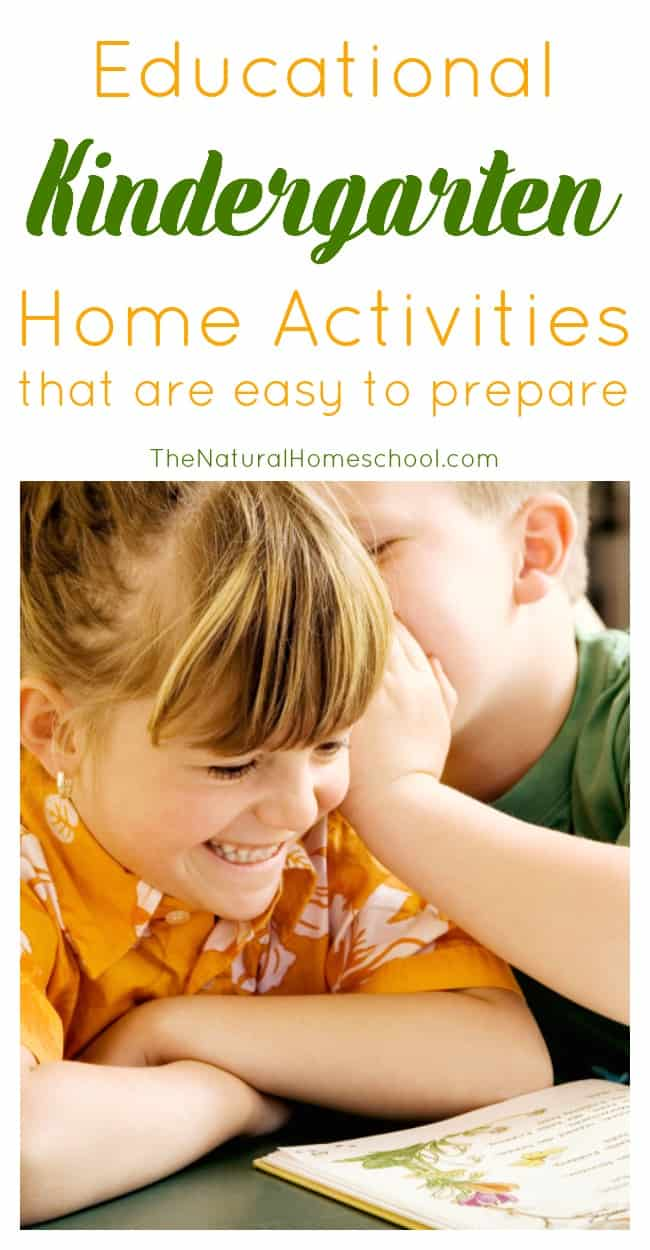 In this post, I will show you some great kindergarten home activities to do with your little ones to make learning happen, but make it fun.