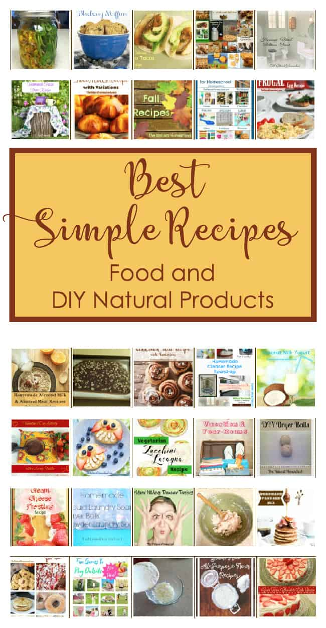 Looking for awesome family- and kid-friendly recipes? We have many here! Are you looking for some DIY projects to make your own natural cleaners and toiletries? We have a ton here!