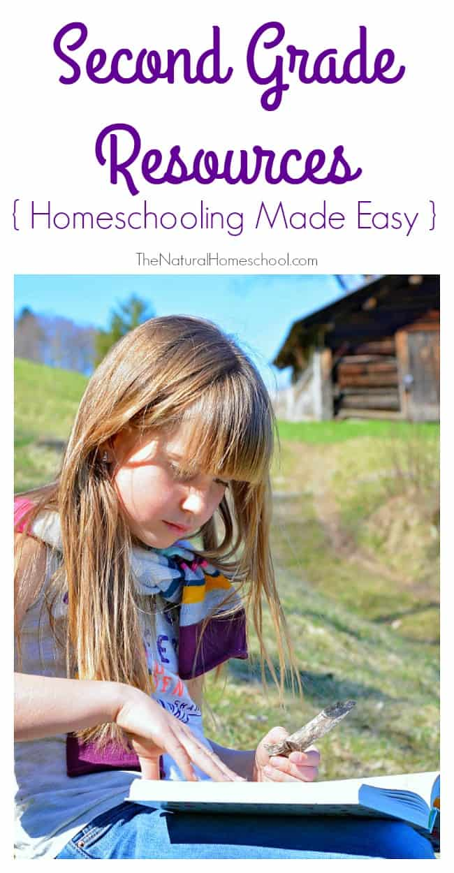 Here is our new installment of great resources for busy homeschooling moms! This time, it is our Second Grade Homeschooling Made Easy!