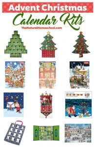 Amazing Advent Christmas Calendar Kits