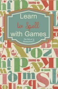 Learn to Spell with Games