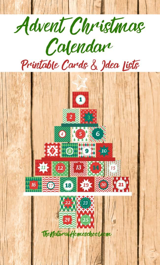graphic relating to Printable Christmas Calendar known as Printable Arrival Xmas Calendar Playing cards and Lists (Sq.