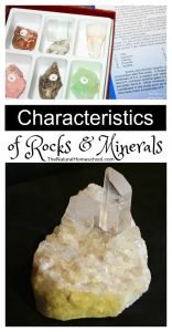 Characteristics of Rocks and Minerals