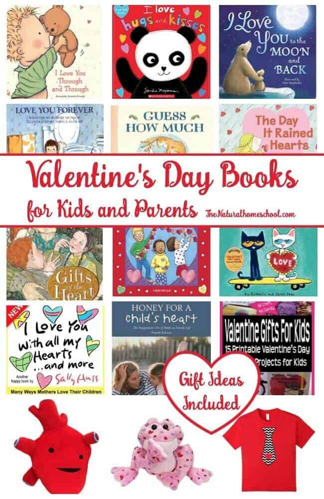 We are so excited to share a great list of love, heart and Valentine's Day books for kids and parents! You will absolutely feel this tug at your heart strings because the stories are sweet and heart-warming. There are books for babies, toddlers, preschoolers, kids and parents!