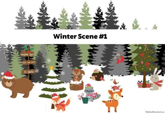 We are going to make a creative Winter scene diorama and we'll show you how to. It is so fun and easy to make a Winter diorama.