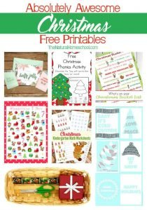 Absolutely Awesome Christmas Free Printables