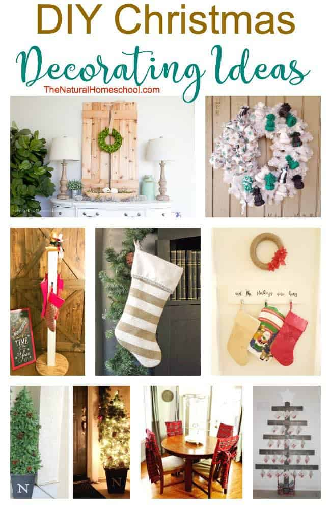Diy Christmas Decorating Ideas Link Party 119 The Natural Homeschool