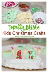 Easy Edible Christmas Crafts