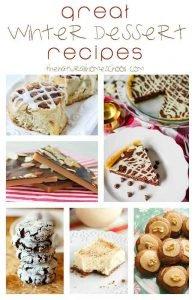 Great Winter Dessert Recipes