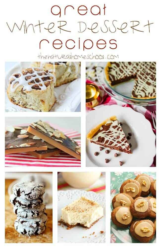 This is an awesome list of posts that bring you beautiful advice to make Great Winter Dessert Recipes a wonderful experience. Include your children in the reading. What do they think? I believe these will be great conversation starters for you as a family.