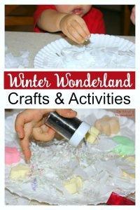 Winter Wonderland Crafts & Activities
