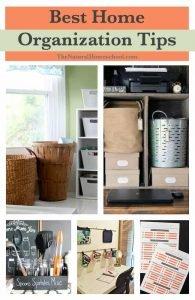 Best Home Organization Tips