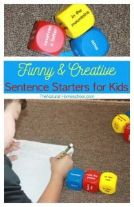 Funny and Creative Sentence Starters for Kids