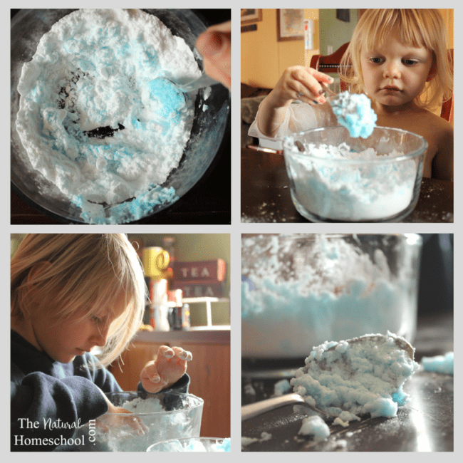 You can teach your kids about the science of snow, too, with these activities for kids.